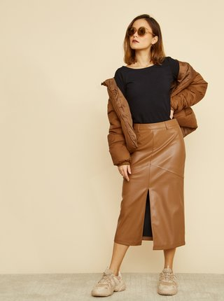 Černé pouzdrové basic šaty ZOOT Baseline Polli