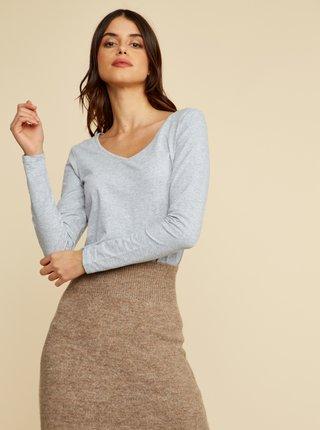 Tricouri basic pentru femei ZOOT Baseline - gri deschis