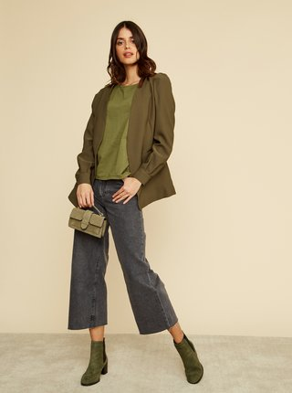 Zelené dámské basic tričko ZOOT Baseline Rosie