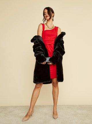 Červené pouzdrové šaty ZOOT