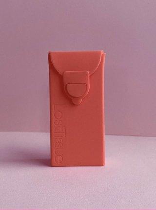 Znovupoužiteľné vreckovky v ružovom obale LastSwab