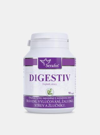 Přírodní kapsle Serafin - Digestiv (90 kapslí)