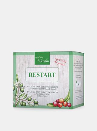 Bylinný sypaný čaj a kapsle Serafin - Restart (50 g + 60 kapslí)
