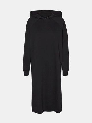 Čierne mikinové šaty Noisy May Helene