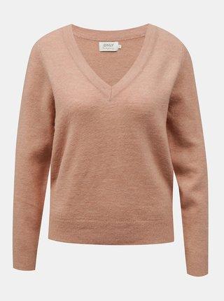 Staroružový sveter ONLY