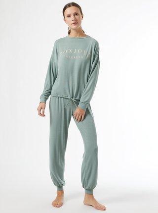 Svetlozelené pyžamo Dorothy Perkins