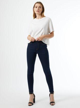 Modré skinny fit džíny Dorothy Perkins