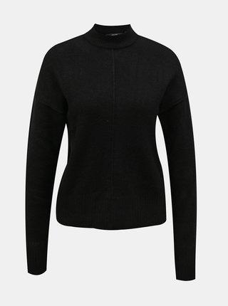 Čierny sveter so stojáčikom VERO MODA