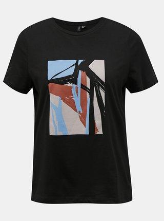 Černé dámské tričko VERO MODA