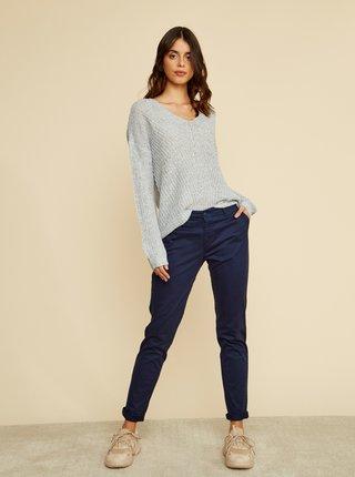 Pantaloni chino pentru femei ZOOT Baseline - albastru inchis