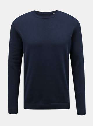 Tmavě modrý basic svetr ONLY & SONS