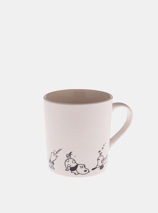 Biely porcelánový hrnček Dakls 280 ml