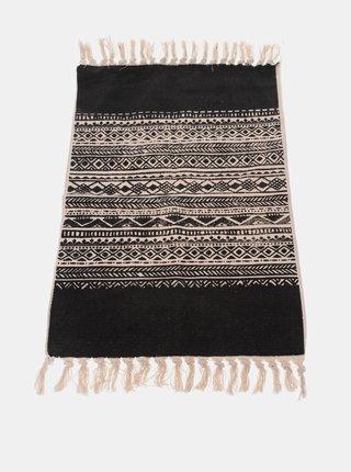 Čierny koberec Dakls