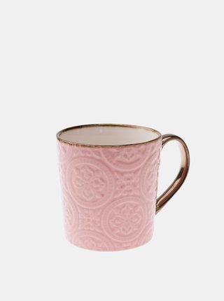 Ružový keramický hrnček Dakls 500 ml