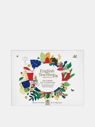 Luxusná papierová kolekcia čajov English Tea Shop 48 ks