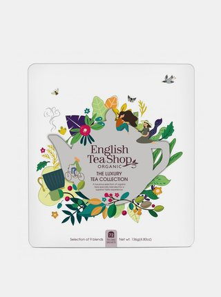 Luxusní kazeta čajů English Tea Shop Klasic 72 ks