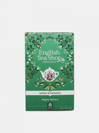 Čaj Silná matcha English Tea Shop 20 ks
