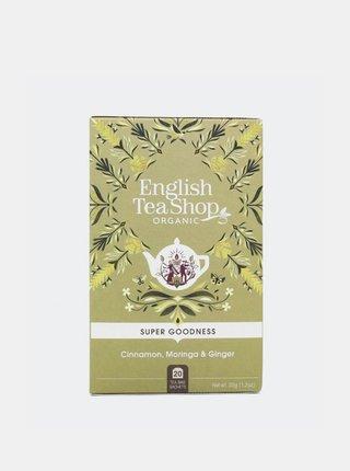 Čaj Škorica, moringa a zázvor English Tea Shop 20 ks