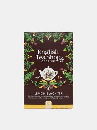 Čierny čaj s citrónom English Tea Shop 20 ks