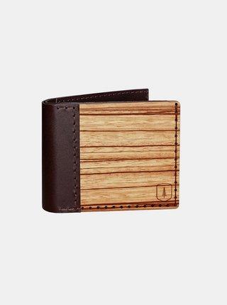 Kožená peněženka Lineari, pánská BeWooden