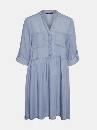 Rochii casual pentru femei VERO MODA - albastru deschis