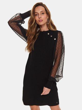 Černé svetrové šaty TOP SECRET