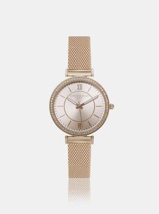 Dámské hodinky s nerezovým páskem ve zlaté barvě Annie Rosewood