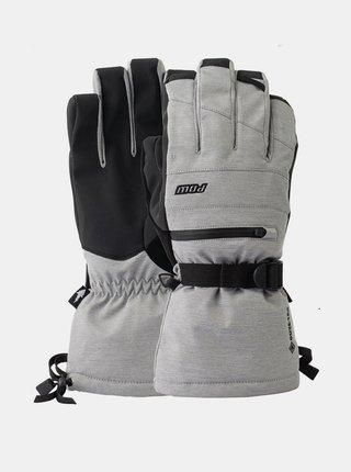 POW Wayback GTX Long Glo MONUMENT pánské zimní prstové rukavice - černá