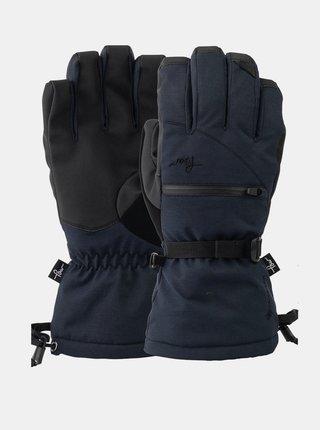 POW Cascadia GTX Long Gl black zimní prstové rukavice - černá