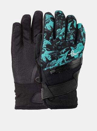 POW Astra Flow zimní prstové rukavice - černá