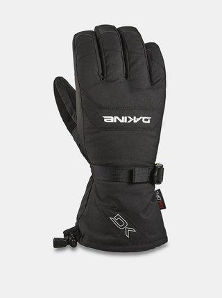 Dakine SCOUT black pánské zimní prstové rukavice - černá