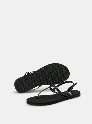 Čierne dámske sandále Puma