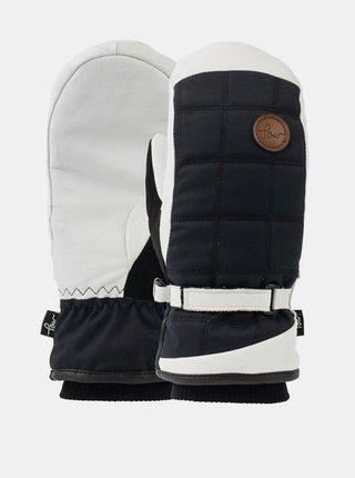 POW Ravenna Mitt ANGORA zimní palcové rukavice - černá