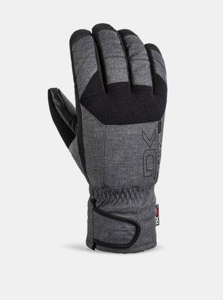 Dakine SCOUT SHORT CARBON pánské zimní prstové rukavice - černá