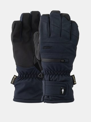 POW Wayback GTX Short Gl black pánské zimní prstové rukavice - černá
