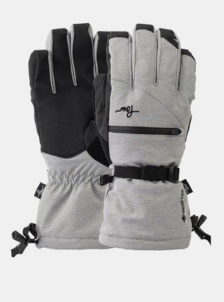 POW Cascadia GTX Long Gl MONUMENT zimní prstové rukavice - šedá