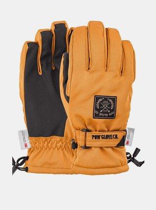 POW XG MID TOBACCO pánské zimní prstové rukavice - hnědá