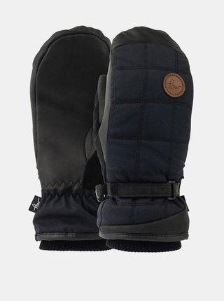 POW Ravenna Mitt black zimní palcové rukavice - černá