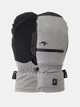 POW Cascadia GTX Short M MONUMENT zimní palcové rukavice - černá