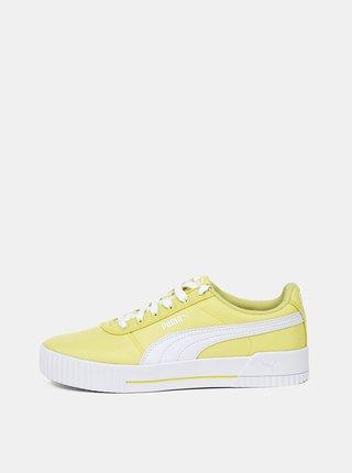 Žlté dámske tenisky Puma