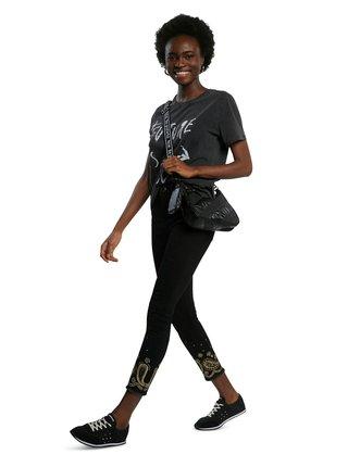 Desigual černé džíny Denim Belgica