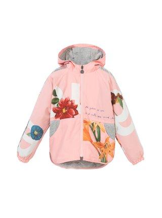 Desigual světle růžová dívčí bunda Chaq Maisterra