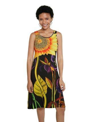 Desigual farebné šaty Vest Marlon