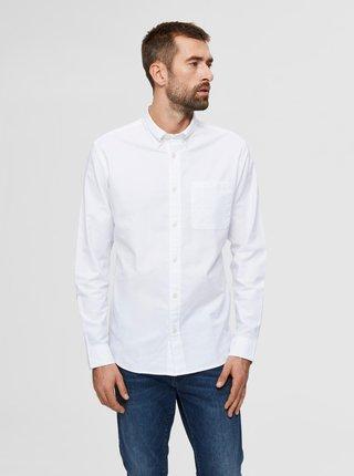 Bílá košile Selected Homme Regrick