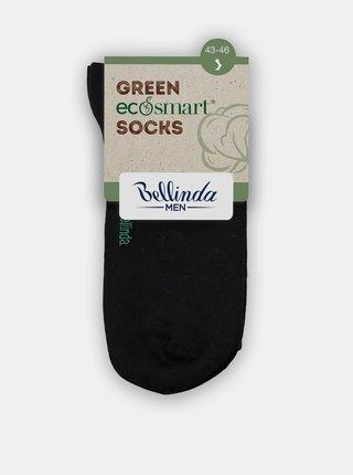 Pánské ponožky z bio bavlny - černá Bellinda GREEN ECOSMART