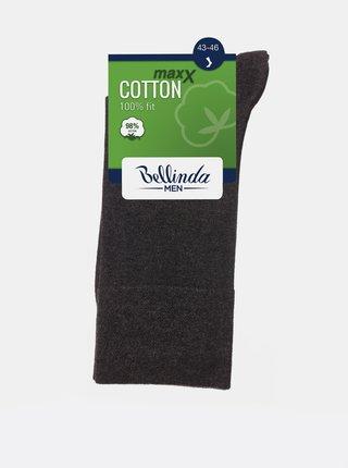 Pánské ponožky COTTON MAXX MEN SOCKS - Pánské bavlněné ponožky - černá