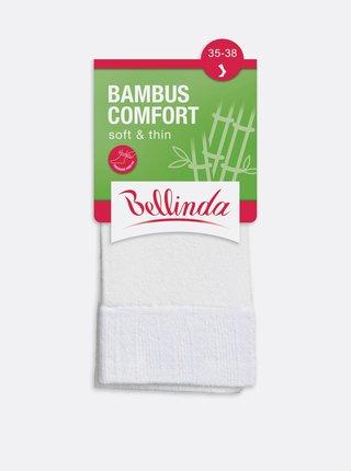 Dámské ponožky BAMBUS COMFORT SOCKS - Dámské bambusové ponožky - bílá