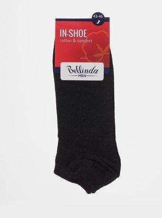 Pánské nízké ponožky IN-SHOE SOCKS - Krátké pánské ponožky - černá