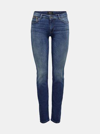 Modré slim fit džíny ONLY Leva