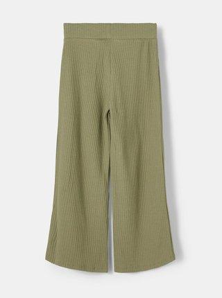 Khaki holčičí kalhoty name it Birka